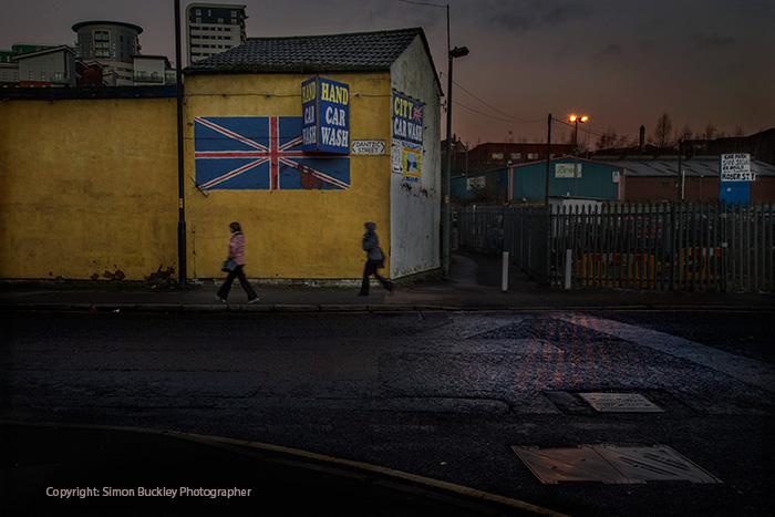 Dantzic Street, Manchester, 7.20 am.