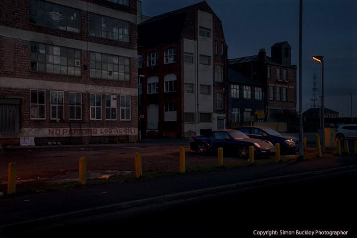 Goulden Street car park, Manchester.