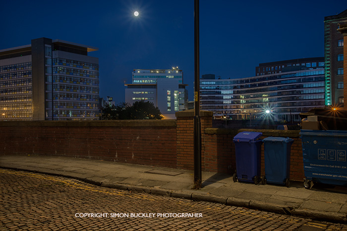 Jutland Street in Manchester at Dawn