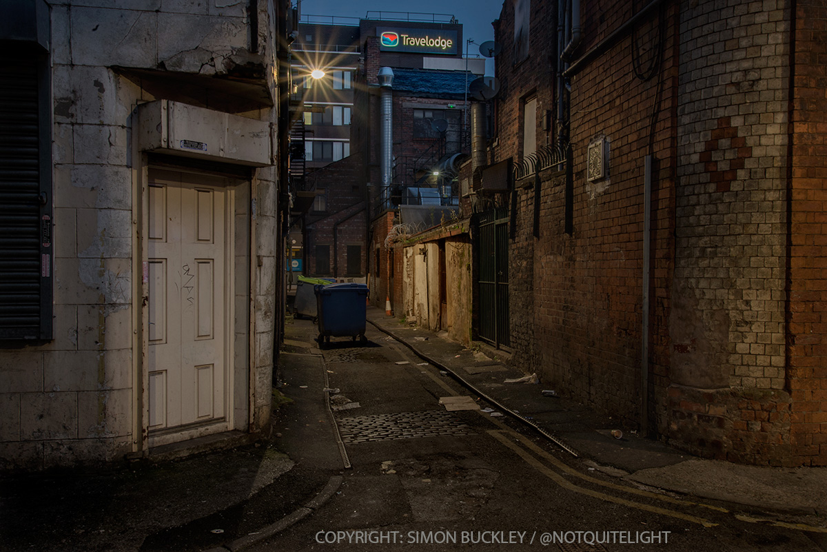 Little Lever Street Manchester 6.50AM