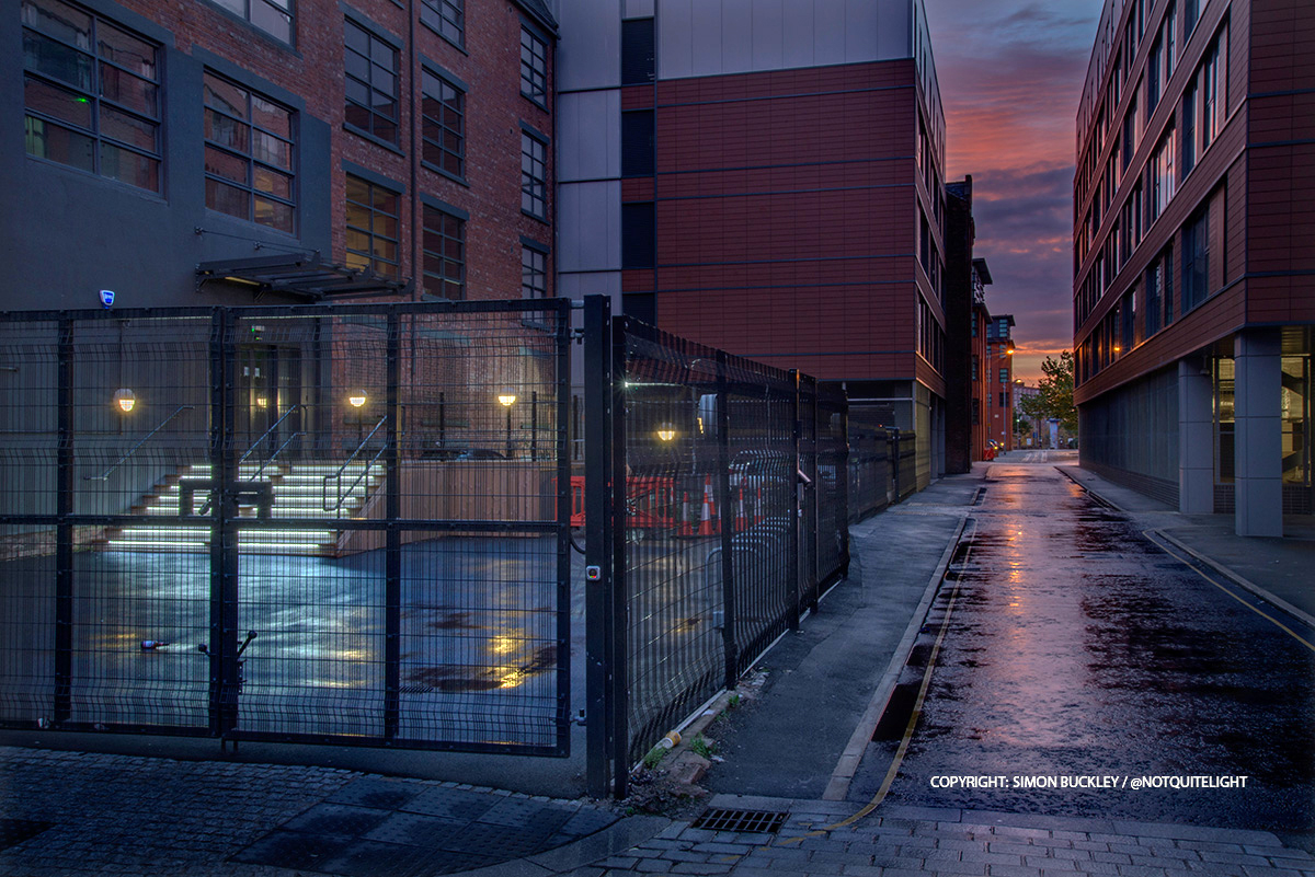 Gun Street Ancoats at dawn