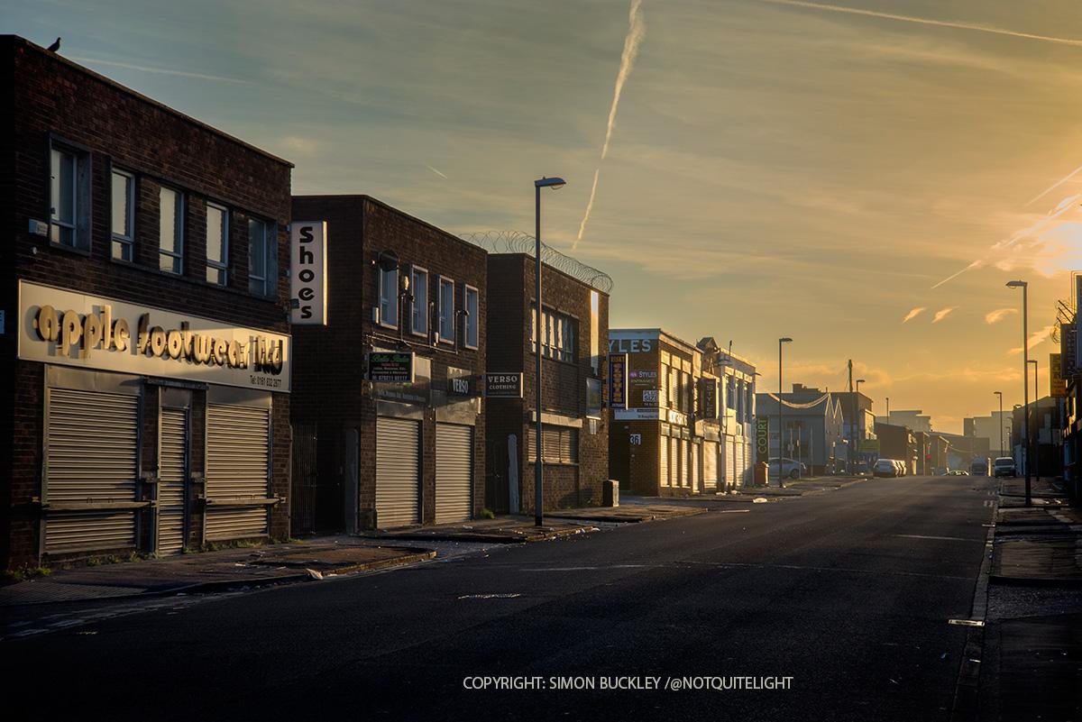 Cheetham Hill Manchester Dawn