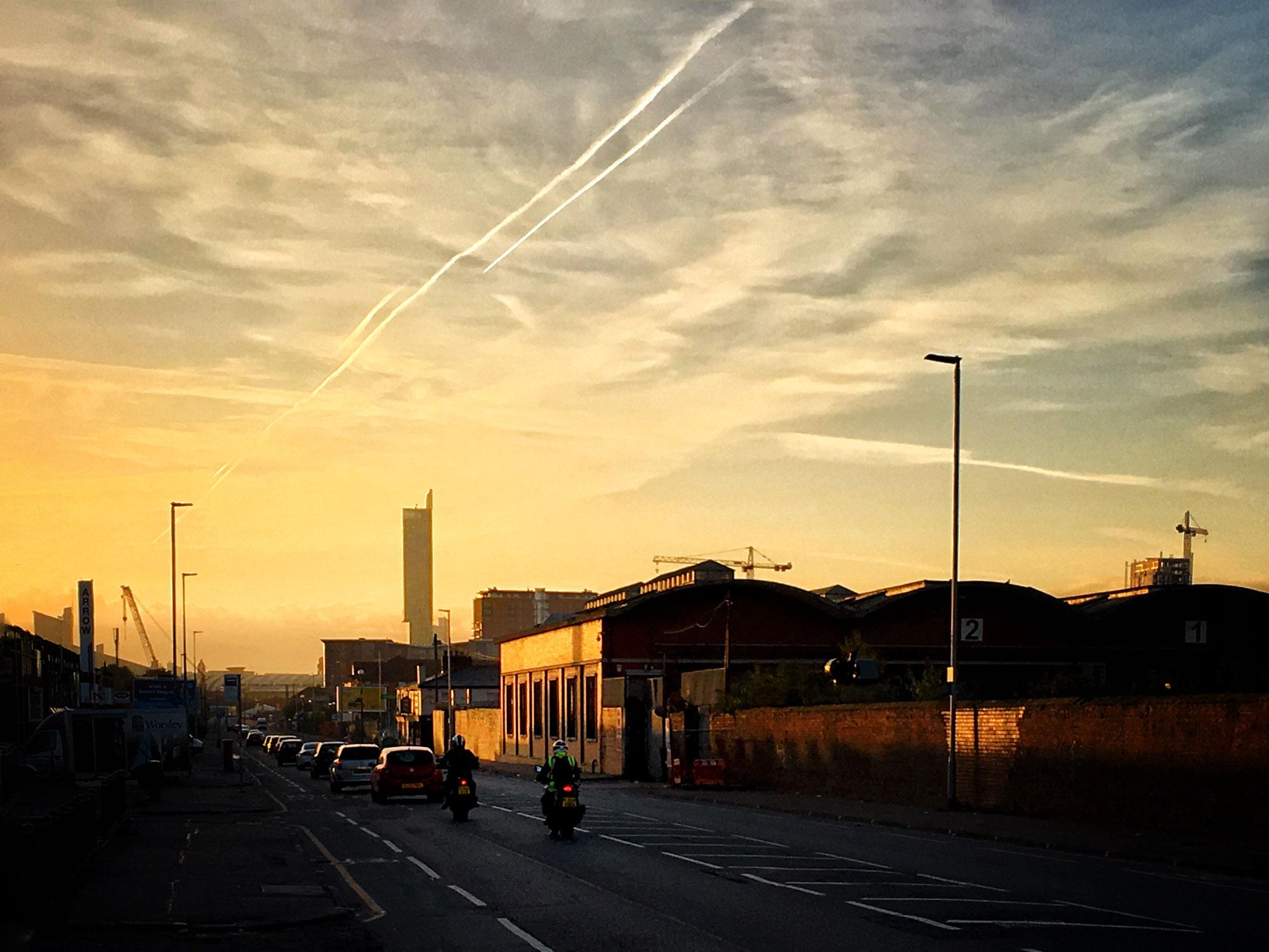 liverpool street salford dawn