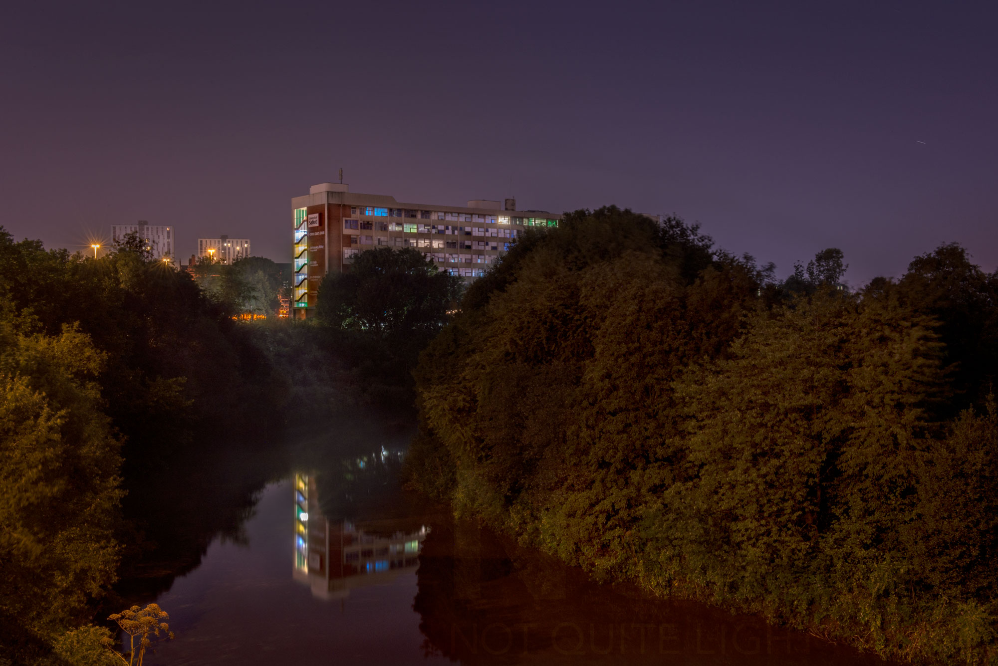 River Irwell Salford University