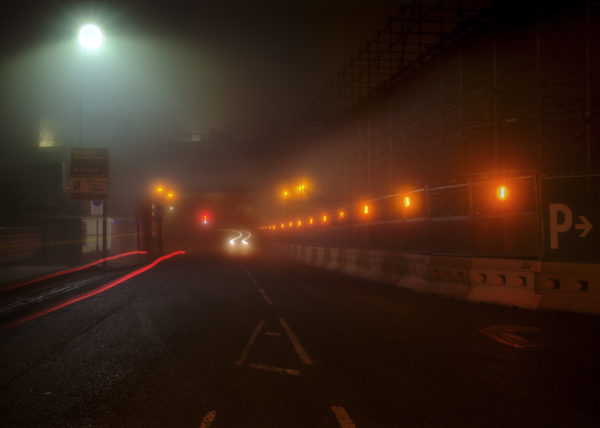 Not Quite Light dawn in Salford and Manchester. Reform Radio manchester