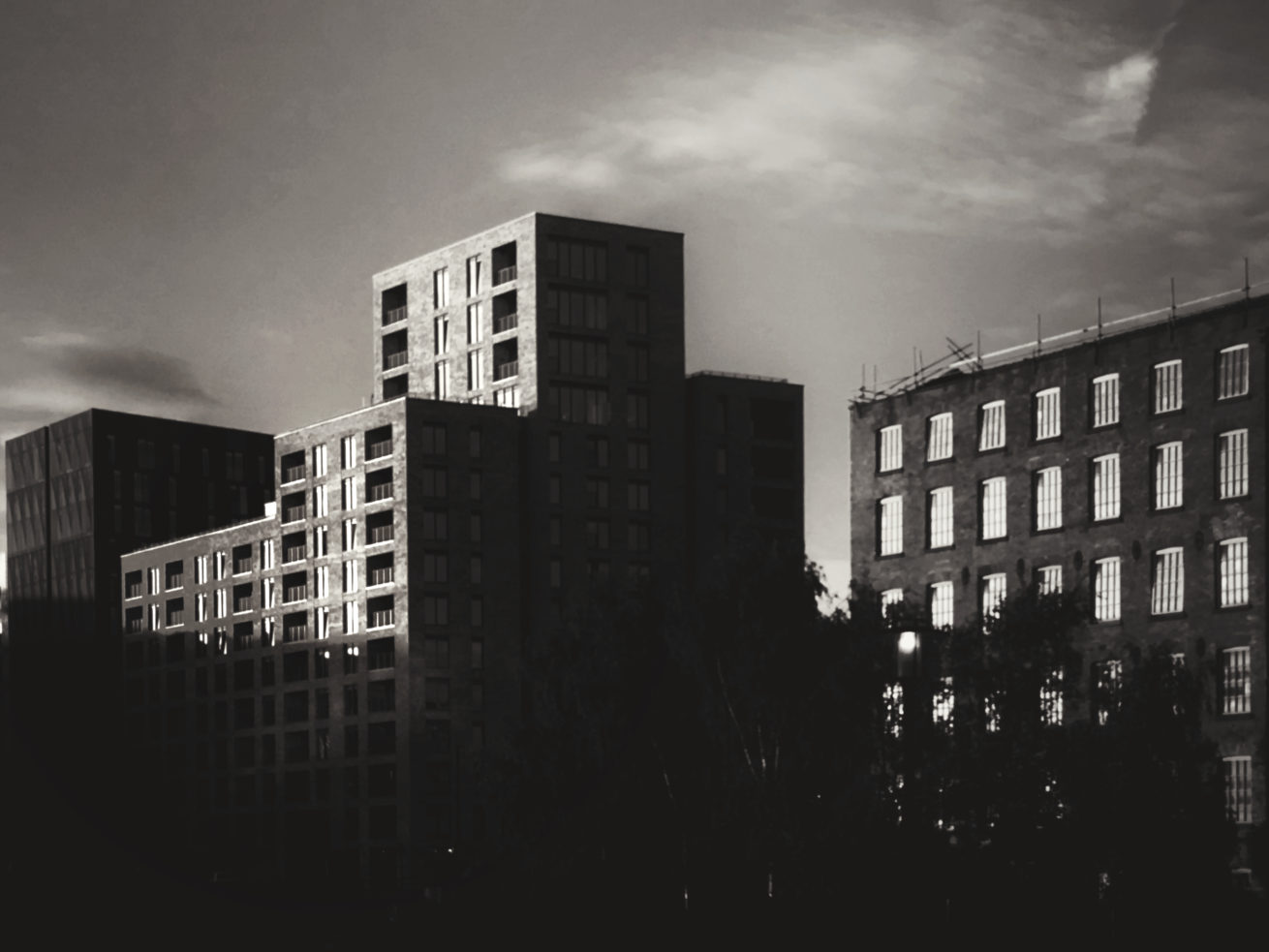 NORTHERN QUARTER AT DUSK