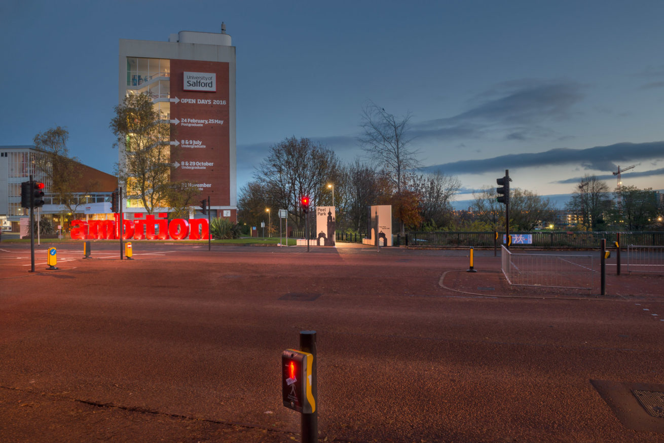 SALFORD UNIVERSITY ON THE CRESCENT DAWN