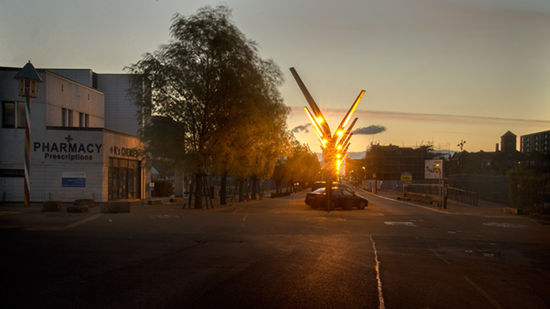 New Islington Manchester Not Quite Light