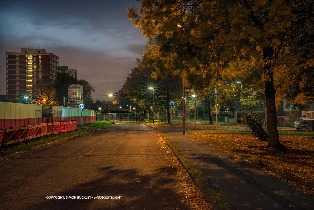 Jersey Street Ancoats Dawn