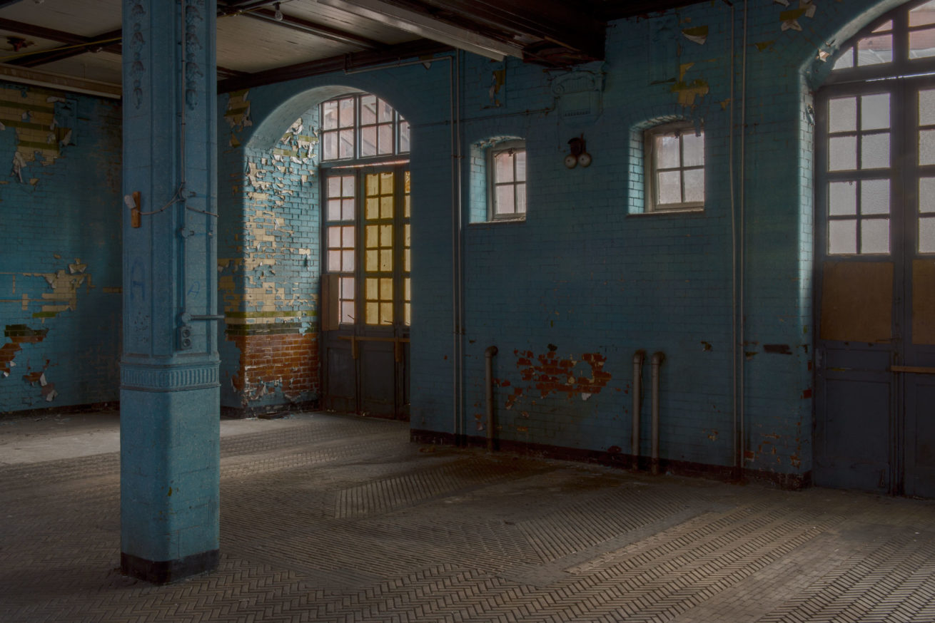 Interior of the London Road Fire Station, Manchester