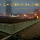 based on ancient Japanese woodcuts 12 scenes of salford