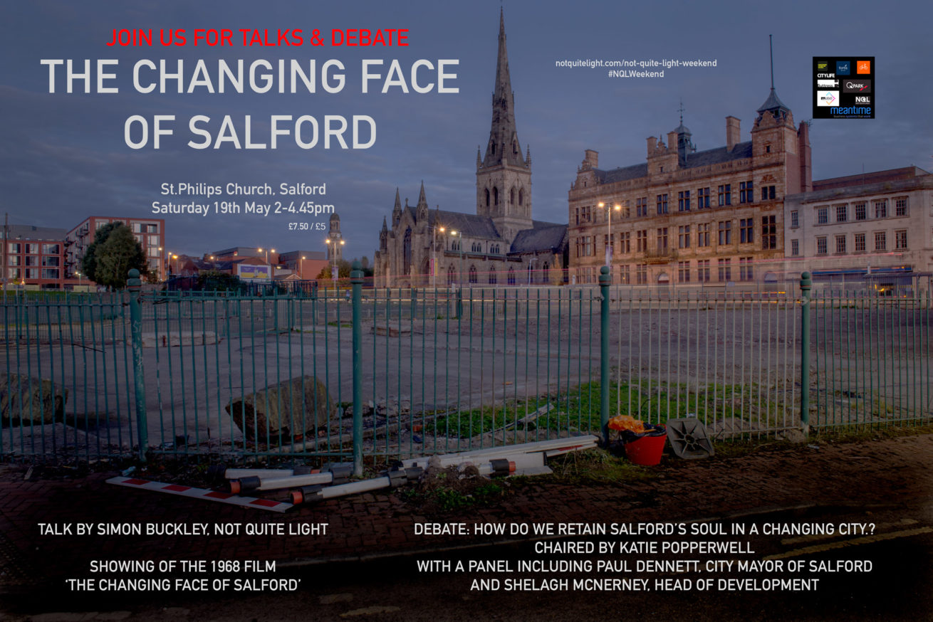 not quite light weekend 2018 may event salford talk