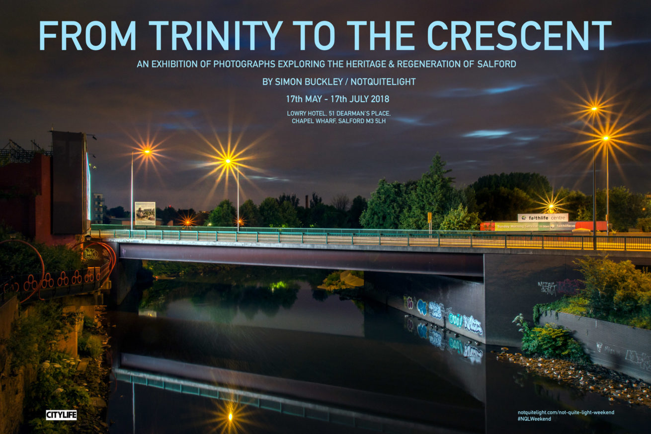 from trinity to the crescent not quite light weekend 2018 event